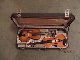Double violin case.