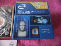 Intel 4790K Processor + EVGA Z97 FTW Motherboard + 32gb 1866mhz Kingston Hyper Ram