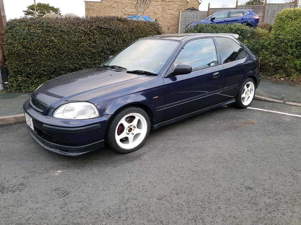 Honda Civic Ek3 1997 d16z6 conversion.