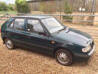 Skoda Felicia 1.3 petrol, 48,000 miles (breaking for spares/parts)