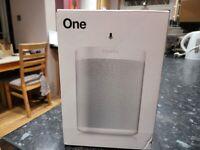 Sonos One 2nd Gen Wireless Smart Speaker - White