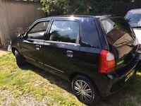 Suzuki Alto GL 1.1 5dr Black £30 road tax