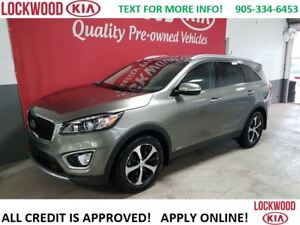 2016 Kia Sorento EX V6 - LEATHER, BLUETOOTH, 7 SEATS