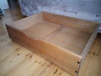 Under bed drawers, high quality, 4 x large with wheels