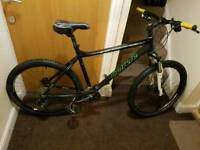 Carrera Vengeance mountain bike with fluid brakes