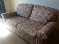 Double sofa bed (ex M&S) in very good condition