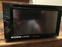 Pioneer AVH-X2500BT DVD touch screen bluetooth car radio double din mic loom etc