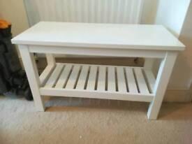 Ikea Hemnes Bench white