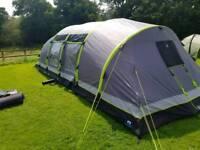Airgo nimbus 8 tent plus ground sheet, carpet and porch