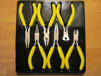 6 Piece Small Plier Tool Set for Electronics