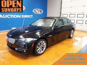 2014 BMW 528I xDrive NAVI! SUNROOF! ONLY 34927KM!