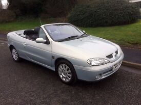 Renault Megane 1.6 16v Dynamique +, CONVERTIBLE WITH FULL SERVICE HISTORY, CAMBELT CHANGED!