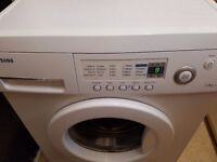 SAMSUNG J1253 washing machine.WAS £450. Fully working. 7 kg. 1200 rpm. 1 year old. Delivery