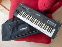 amaha MX49 synthesizer / digital piano / keyboard - w/case