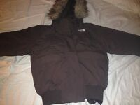 Ladies goosedown quilted north face jacket