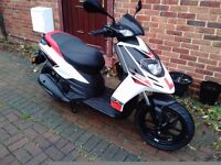 2016 Aprilia SR Motard 125 scooter, very low miles, great runner, new 66reg, same as piaggio typhoon