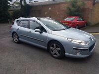 3.0 PEUGEOT 407 SW EXECUTIVE 2005 AUTOMATIC PETROL 92000 MILES MOT 3/4/18 HISTORY 3 MONTHS WARRANTY