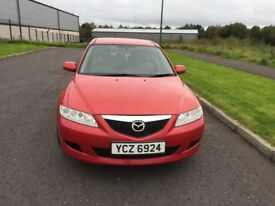 Mazda 6 2L Diesel MOT until Oct 2018