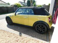 Mini Cooper S Convertible -2010 - Yellow - Very Low Mileage - Fantastic Car