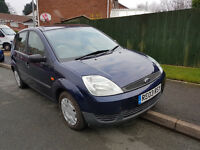 FORD FIESTA 2003 03 PLATE **MOT MAY 2017**