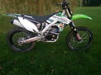 Kawasaki kxf250 2010