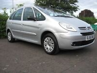 SUPERB CITROEN PICASSO VERY LOW MILES LONG MOT FULL SERVICE HISTORY