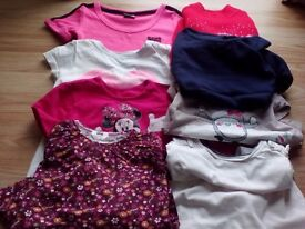 Girls t-shirts bundle for 3 years old