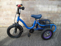 Tricycle, Suit Two + Years Upward, Colour Blue, Nice Condition.