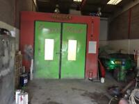 Spray room oven 3.5 by 5 for sale