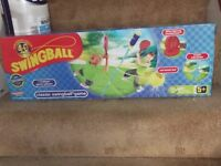 swingball brand new in sealed box , complete with base and bats