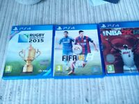 3x ps4 games for sale £10.00
