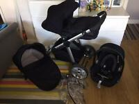 Icandy I candy apple 2 pear Pram pushchair