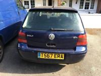 Golf GTI spare or repair