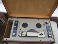 Vintage Carousel Reel to Reel Tape Player.