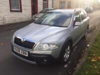 2008 Skoda Octavia Diesel Estate 2.0 Tdi Pd Scout 4X4 5Dr 2 Owners From New Full Service History