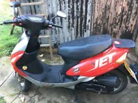 Lifan 50cc moped scooter
