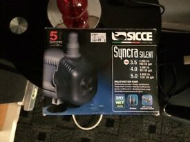 Syncra silent 3.5 sump pump brand new boxed