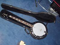 Fender Robert Schmidt Electro-Acoustic 4-String Banjo