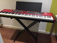 Double braced Keyboard Stand (Stagg KXS-A6)