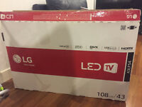 43 inch LG LeD as new