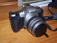 Pentax camera MZ-30 film