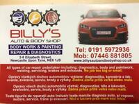 Billy's auto & body shop