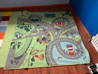 2 children's large rugs