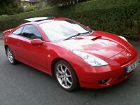 Toyota Celica 1.8 VVTL-i T Sport 2005 12 Months MOT