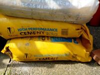 6 bags of cement