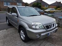 nissan x trail 2.0 automatic 02 reg only 102000 miles with service history