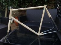 Bianchi pista via brera frame for sale, collection from north London on Piccadilly line