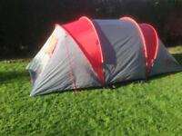Tent four man two bedrooms