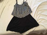 Miss Selfridge Size 8 playsuit