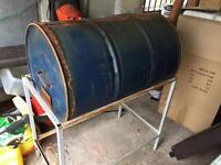 oil Drum BBQ